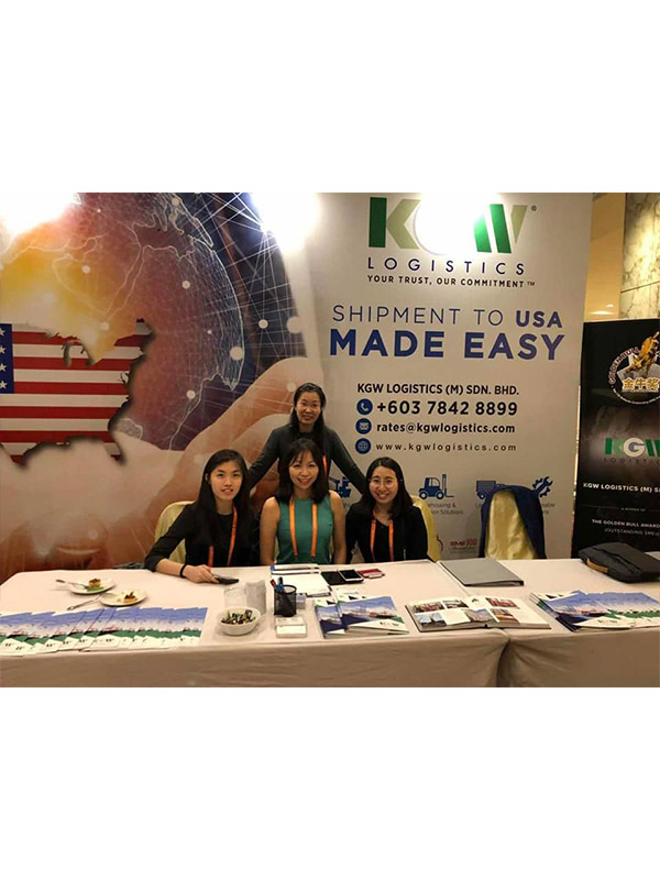 KGW Logistics at JC Trans Logistics Conference held in KL, Malaysia