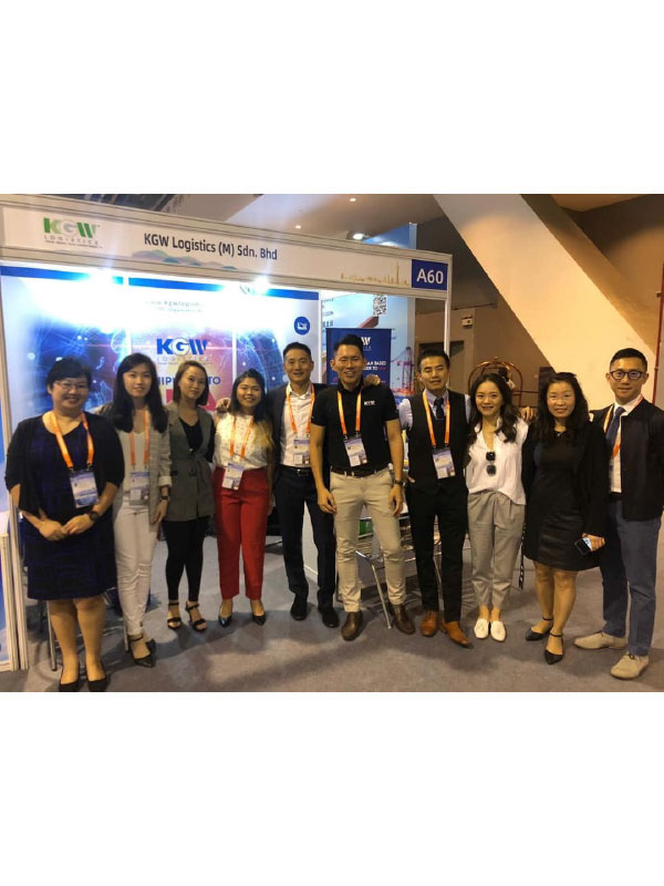KGW Logistics at JC Trans Logistics Conference held in Guangzhou, China