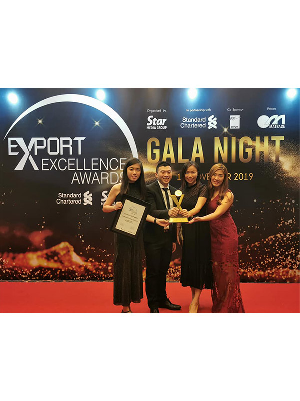 KGW Logistics - Export Exellence Awards 2019 (Best Services)