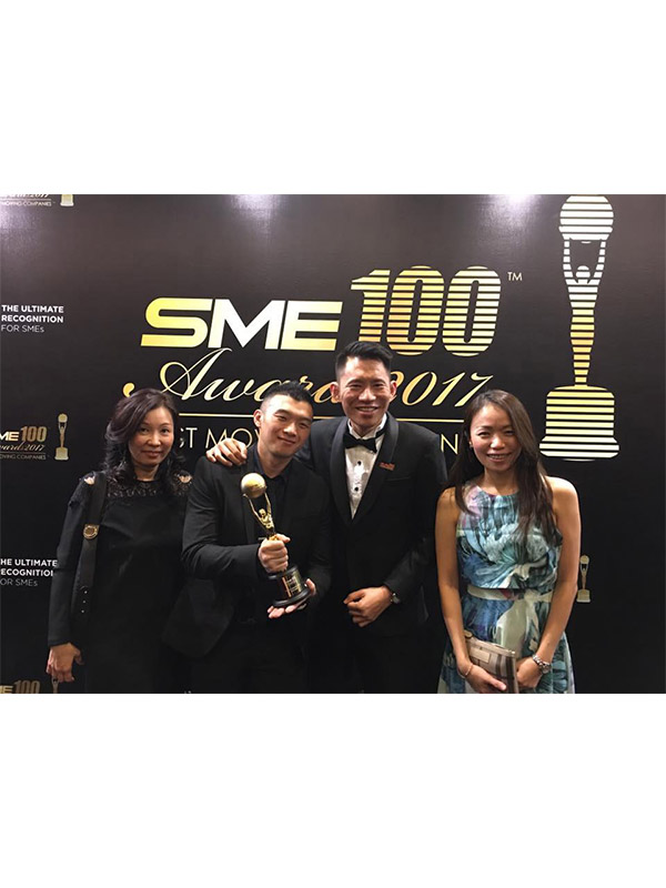 KGW Logistics - SME 100 Awards 2017 (Fast Moving Companies)