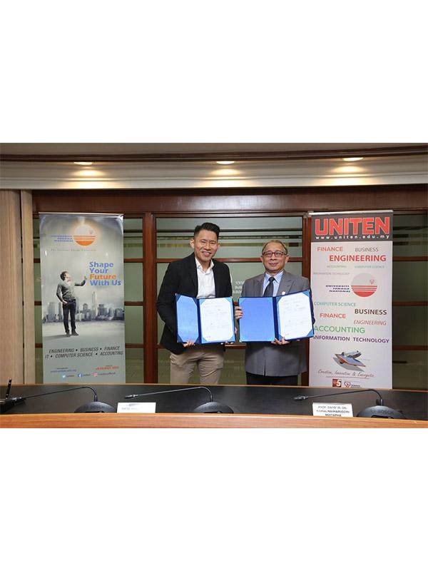 MOU Signing between KGW Logistics and Universiti Tenaga Nasional (UNITEN)