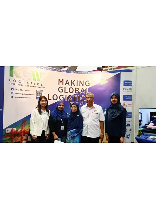 KGW Logistics at Minggu Usahawan Nasional 2019 (Exhibition organised by the Ministry of Entrepreneur Development Malaysia)